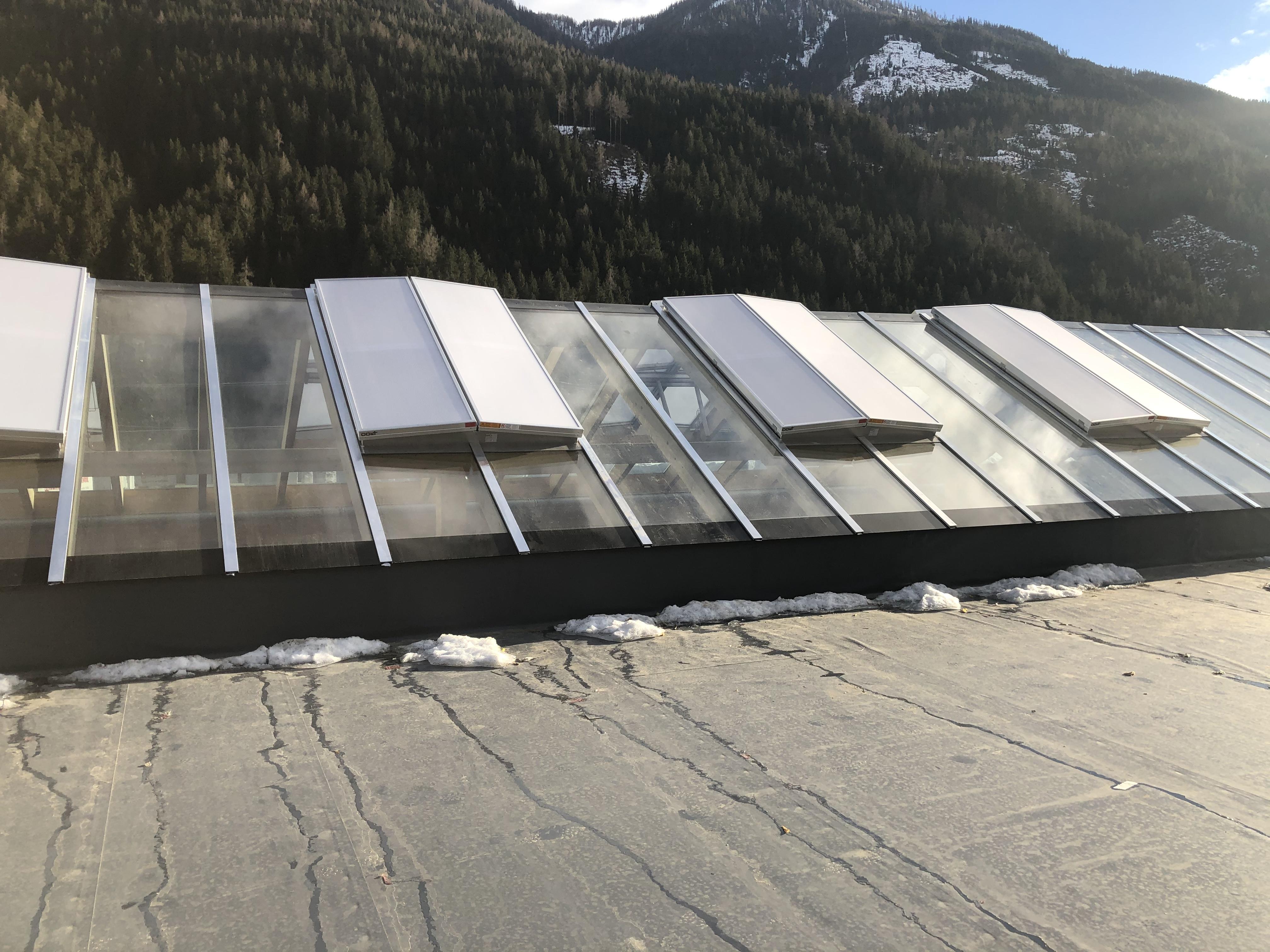 Dachverglasung, Stall/Mölltal