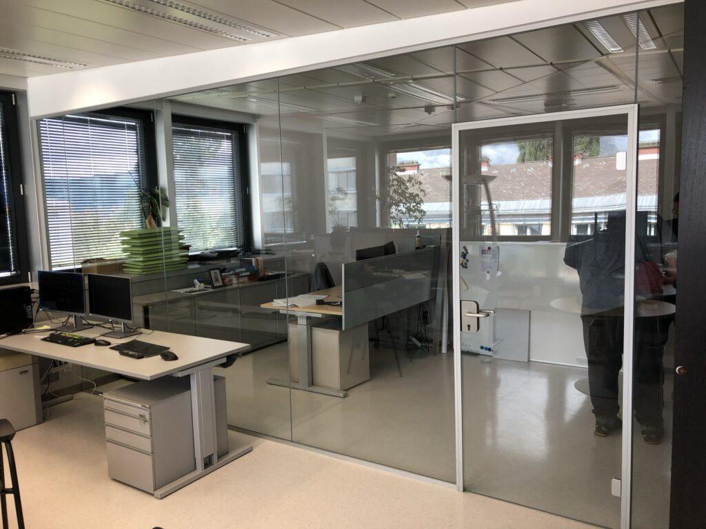 Büro - Trennwand - Kelag
