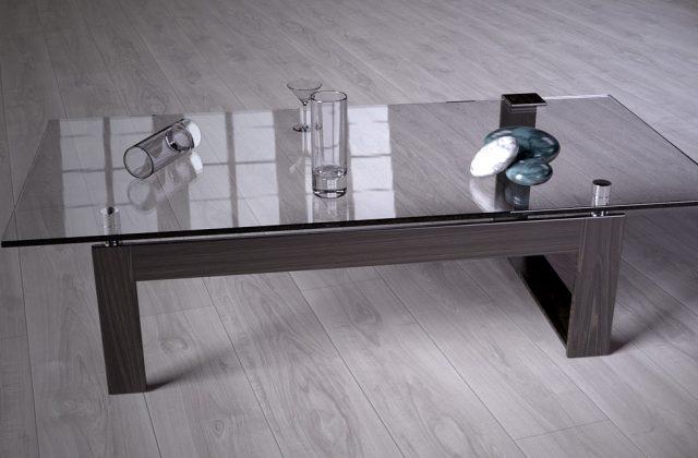 Glas-Tischplatte